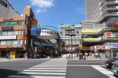 各線・上大岡駅前の様子。(2011-08-30,共用部,ENVIRONMENT,1F)