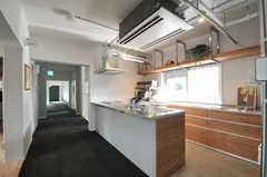 キッチンの様子5。(2013-09-18,共用部,KITCHEN,1F)