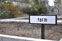 農園の様子。(2013-09-18,共用部,OTHER,1F)