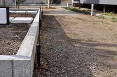農園には自動水まきシステムが設置されています。(2013-09-18,共用部,OTHER,1F)