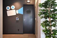 シアタールームの入り口。(2019-10-09,共用部,OTHER,1F)