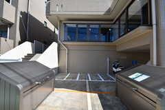 駐輪場の様子。(2019-10-09,共用部,GARAGE,1F)