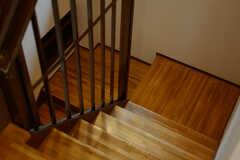 階段の様子。(2015-01-26,共用部,OTHER,1F)