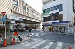 東急東横線・大倉山駅の様子。(2015-01-26,共用部,ENVIRONMENT,1F)