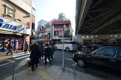 東急東横線・大倉山駅の周辺の様子。(2015-01-26,共用部,ENVIRONMENT,1F)