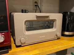 オーブントースターはバルミューダ社。 ※事業者様提供素材(2019-12-25,共用部,KITCHEN,1F)