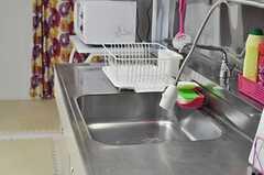 調理スペースは広めです。(2014-03-17,共用部,KITCHEN,4F)