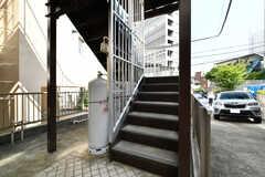 階段の様子。(2020-08-24,共用部,OTHER,1F)