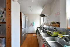 キッチンの様子。(2020-08-24,共用部,KITCHEN,3F)