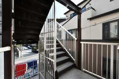 階段の様子。(2020-08-24,共用部,OTHER,2F)