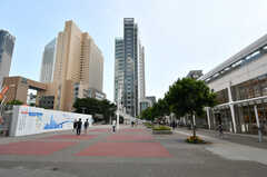 桜木町駅前の様子。(2020-08-24,共用部,ENVIRONMENT,1F)