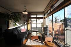 和室側から見たリビング。(2012-12-25,共用部,LIVINGROOM,1F)