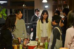 ウエルカムパーティーの様子2。(2013-03-17,共用部,PARTY,1F)