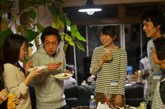 ウエルカムパーティーの様子3。(2013-03-17,共用部,PARTY,1F)