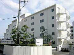シェアハウスの外観。(2007-03-10,共用部,OUTLOOK,1F)