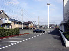 駐車場の様子。(2007-03-10,共用部,GARAGE,1F)