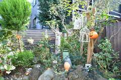 庭の様子2。(2018-10-10,共用部,OTHER,1F)