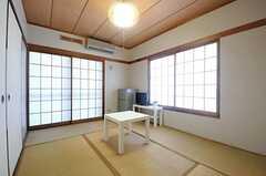 専有部の様子。和室です。(101号室)(2013-11-27,専有部,ROOM,1F)