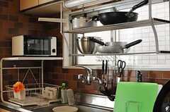 家庭的で使いやすそうなキッチンまわり。(2012-11-21,共用部,KITCHEN,3F)