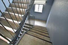 階段の様子。(2017-04-06,共用部,OTHER,2F)