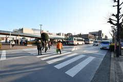 東急田園都市線・市が尾駅前の様子。(2018-02-23,共用部,ENVIRONMENT,1F)