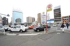 JR東海道線・保土ヶ谷駅前の様子。(2016-04-21,共用部,ENVIRONMENT,1F)