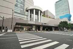 各線・上大岡駅の様子。(2014-10-23,共用部,ENVIRONMENT,1F)
