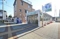 地下鉄グリーンライン・高田駅の様子。(2015-12-01,共用部,ENVIRONMENT,1F)