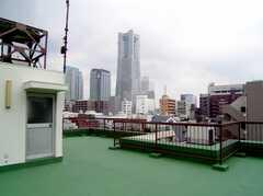 屋上の様子。(2007-07-19,共用部,OTHER,6F)