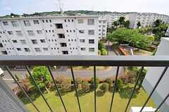 窓から見た景色。緑が豊かです。(5012号室)(2012-06-07,専有部,ROOM,5F)