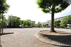 団地内にある公園の様子。(2012-06-07,共用部,ENVIRONMENT,1F)