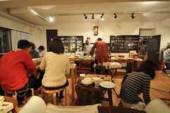 パーティーの様子6。(2014-02-23,共用部,PARTY,1F)