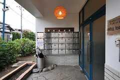 郵便ポストは部屋ごとに用意されています。(2013-09-16,周辺環境,ENTRANCE,1F)