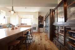 キッチンの様子2。(2014-09-16,共用部,KITCHEN,1F)