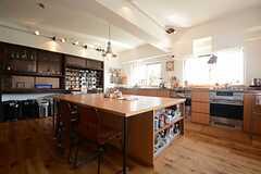 キッチンの様子3。(2014-09-16,共用部,KITCHEN,1F)