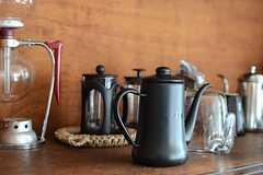 コーヒーのアイテムも充実。(2014-09-16,共用部,KITCHEN,1F)