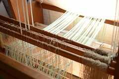 機織り機の様子。(2014-09-16,共用部,OTHER,3F)