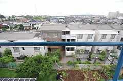窓からの景色。(307号室)(2013-09-16,専有部,ROOM,3F)