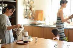 入居者さんはコーヒー好きが多い様子。(2014-09-16,共用部,OTHER,1F)