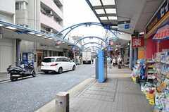 近くの商店街の様子。(2015-08-19,共用部,ENVIRONMENT,1F)