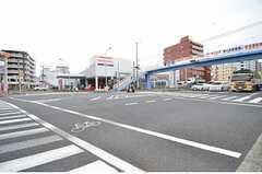 相模線・西横浜駅前の様子。(2015-08-19,共用部,ENVIRONMENT,1F)