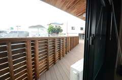 窓から見た外の景色。(104号室)(2015-10-05,専有部,ROOM,1F)