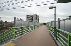 京急本線・花月園前駅の様子。(2015-10-05,共用部,ENVIRONMENT,1F)