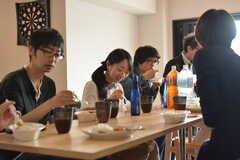 イベント「鹿カレーを食べよう!」の様子6。(2016-06-04,共用部,PARTY,1F)