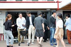 イベント「鹿カレーを食べよう!」の様子8。(2016-06-04,共用部,PARTY,1F)