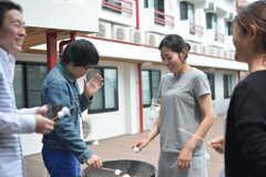 イベント「鹿カレーを食べよう!」の様子9。(2016-06-04,共用部,PARTY,1F)