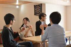 イベント「鹿カレーを食べよう!」の様子10。(2016-06-04,共用部,PARTY,1F)