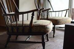 フカフカのソファです。(2011-10-20,共用部,LIVINGROOM,1F)