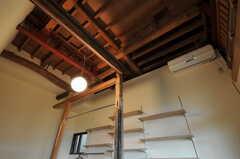 専有部の天井の様子。(103号室)(2011-10-20,専有部,ROOM,1F)