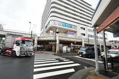 京急本線・追浜駅前の様子。(2018-05-08,共用部,ENVIRONMENT,1F)
